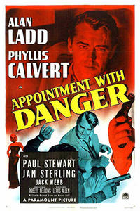 APPOINTMENT WITH DANGER / THE SHADOW ON THE WALL Movie Poster