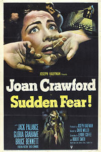 SUDDEN FEAR / THE NARROW MARGIN Movie Poster