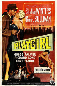 PLAYGIRL / HELL'S HALF ACRE Movie Poster