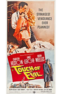 TOUCH OF EVIL / ELEVATOR TO THE GALLOWS Movie Poster