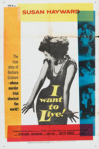 I WANT TO LIVE! / CRY TOUGH Movie Poster
