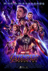 Avengers: Endgame 3D (2019) Movie Poster