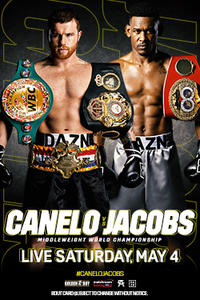 Canelo vs. Jacobs (2019) Movie Poster