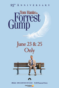 Forrest Gump 25th Anniversary Movie Poster