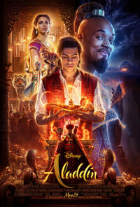 Aladdin 3D Movie Poster