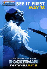 Fandango Early Access: Rocketman Movie Poster