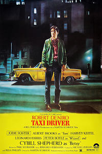 Double Feature: Taxi Driver and Minnie and Moskowitz Movie Poster