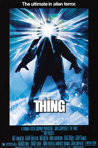 Double Feature: The Thing and Starman Movie Poster