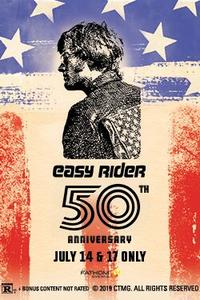 Easy Rider 50th Anniversary Movie Poster