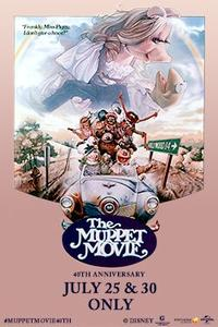 The Muppet Movie 40th Anniversary Movie Poster