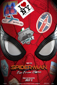 Spider-Man: Far From Home 3D (2019) Movie Poster
