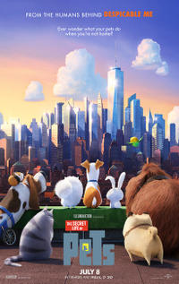 Summer Series: The Secret Life of Pets Movie Poster
