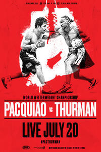 Manny Pacquiao vs. Keith Thurman Movie Poster