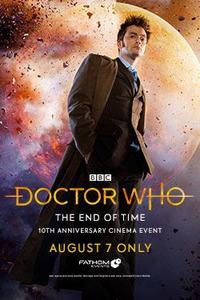 Doctor Who: The End of Time 10th Anniversary Movie Poster