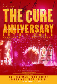 The Cure: Anniversary 1978-2018 Live in Hyde Park London Movie Poster