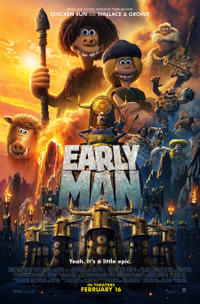 Summer Movie Magic Early Man Movie Poster