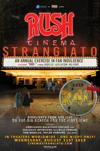 RUSH: Cinema Strangiato 2019 Movie Poster
