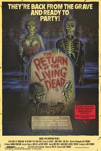 Double Feature: RETURN OF THE LIVING DEAD / THE TEXAS CHAINSAW MASSACRE, PART TWO Movie Poster