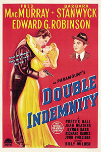 Double Feature: DOUBLE INDEMNITY / BALL OF FIRE Movie Poster
