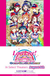Love Live! Sunshine!! The School Idol Movie: Over the Rainbow Movie Poster