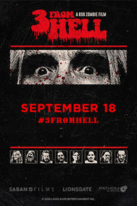 Rob Zombie's 3 From Hell - NIGHT 3 Movie Poster