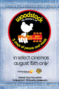 Woodstock (1970) 50th Anniversary Director's Cut Movie Poster