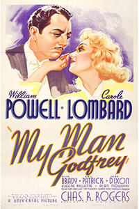 Double Feature: My Man Godfrey / Detour Movie Poster