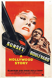 Double Feature: Sunset Boulevard / Sullivan's Travels Movie Poster