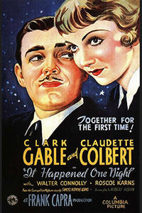 Double Feature: It Happened One Night / The Hitch-Hiker Movie Poster