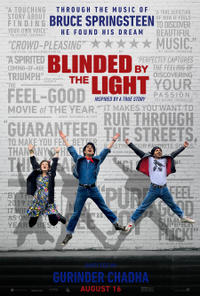 Springsteen Fan Event: Blinded by the Light Movie Poster