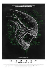 Memory: The Origins of Alien Movie Poster