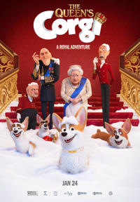 The Queen's Corgi Movie Poster