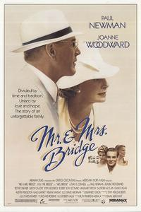 Double Feature: MR. AND MRS. BRIDGE / THE CITY OF YOUR FINAL DESTINATION Movie Poster