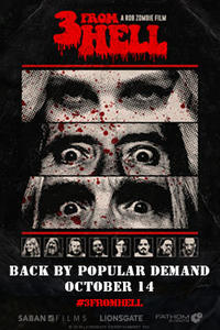 Rob Zombie's 3 From Hell Encore Movie Poster