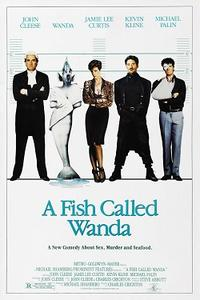 Double Feature: A FISH CALLED WANDA / FIERCE CREATURES Movie Poster