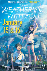 Weathering With You (Fan Preview Screening) Movie Poster
