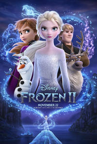 Frozen II 3D Movie Poster