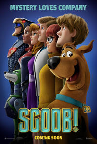 Scoob! Movie Poster