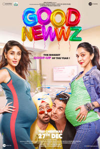 Good Newwz Movie Poster