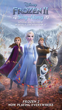 Frozen 2 Sing-A-Long Movie Poster