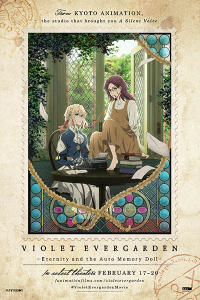 Violet Evergarden I Movie Poster