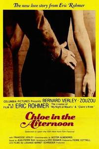 Double Feature: CHLOE IN THE AFTERNOON / THE GREEN RAY Movie Poster