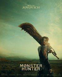 Monster Hunter (2021) Movie Poster