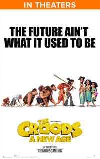 The Croods: A New Age (2020) Movie Poster