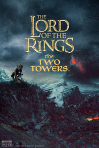 The Lord of the Rings: The Two Towers (2002) - 4K Remaster Movie Poster
