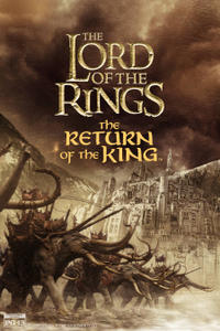 The Lord of the Rings: The Return of the King (2003) - 4K Remaster Movie Poster