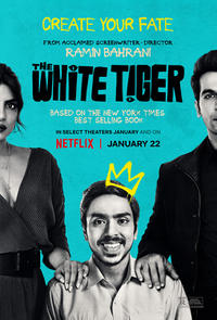 The White Tiger (2021) Movie Poster