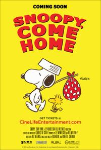 Snoopy, Come Home Movie Poster