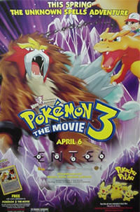 Pokémon 3 Movie Poster