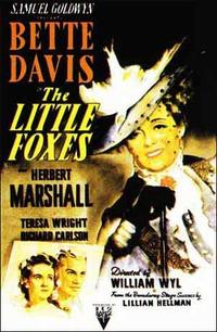 The Little Foxes Movie Poster